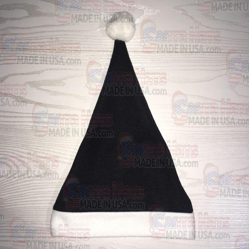 USA Black Fleece Santa Hat